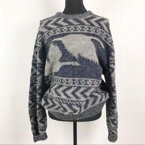 Pendleton Vintage Oversize Cozy Wool Knit Sweater